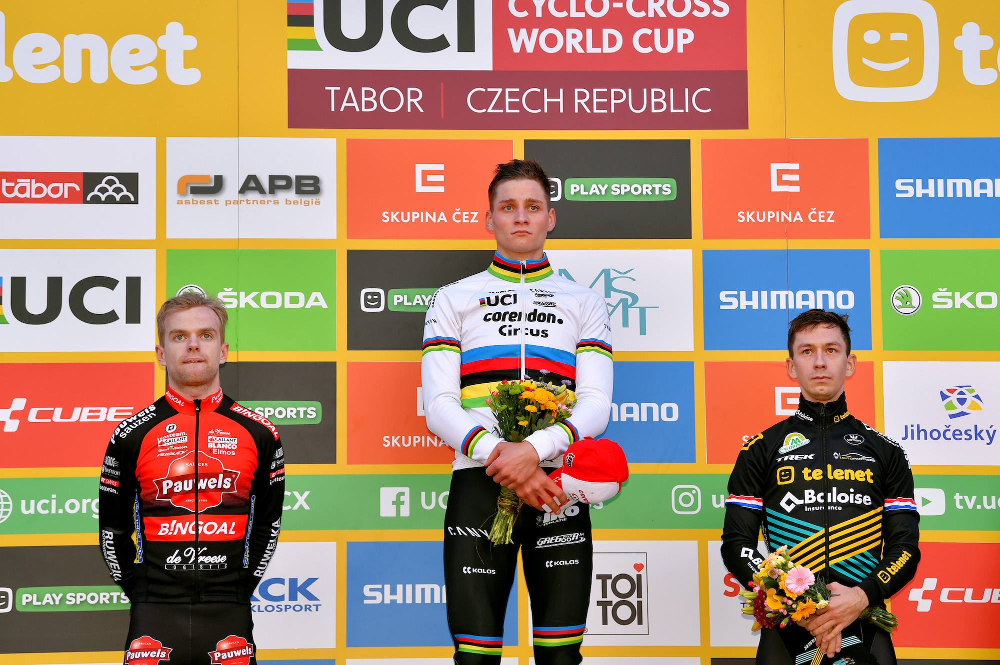 'It has been a very tough week, harder than expected' says Mathieu van der Poel after cyclocross World Cup win