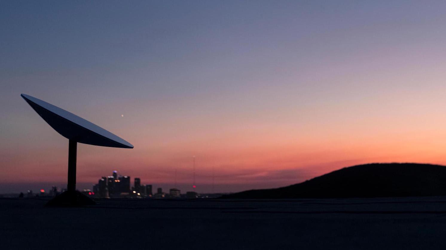 SpaceX Starlink satellite dish