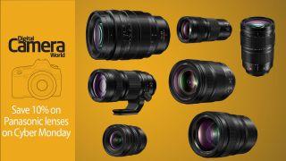 Save 10% on Panasonic lenses on Cyber Monday