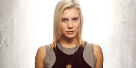 Katee Sackhoff's Fighting Covid And Saving Puppies With Awesome New Battlestar Galactica Gear