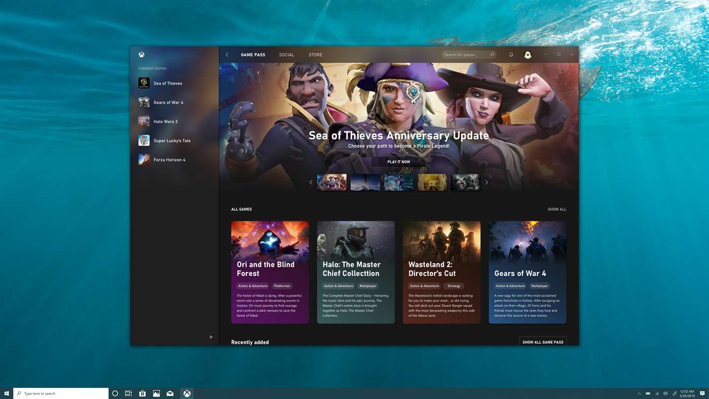 This is our first look at the new Xbox app on Windows 10