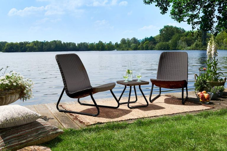 patio furniture sales: Keter Rio 3 Pc All Weather