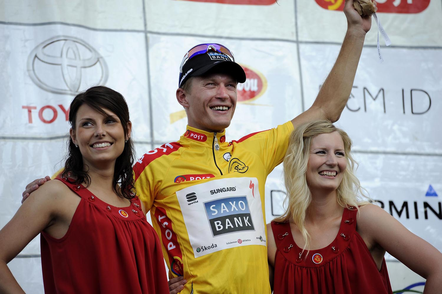 Matti Breschel leads, Tour of Denmark 2010, stage 3