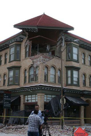 napa earthquake, damage