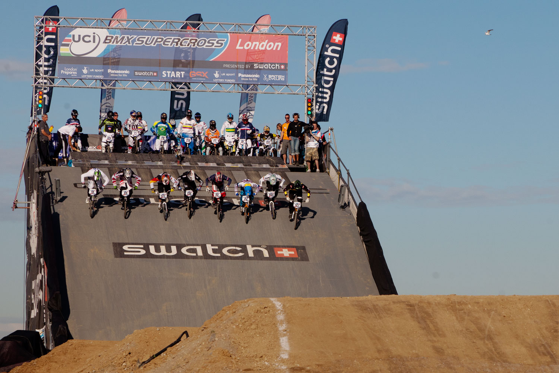 BMX UCI Supercross, London 2012 test event