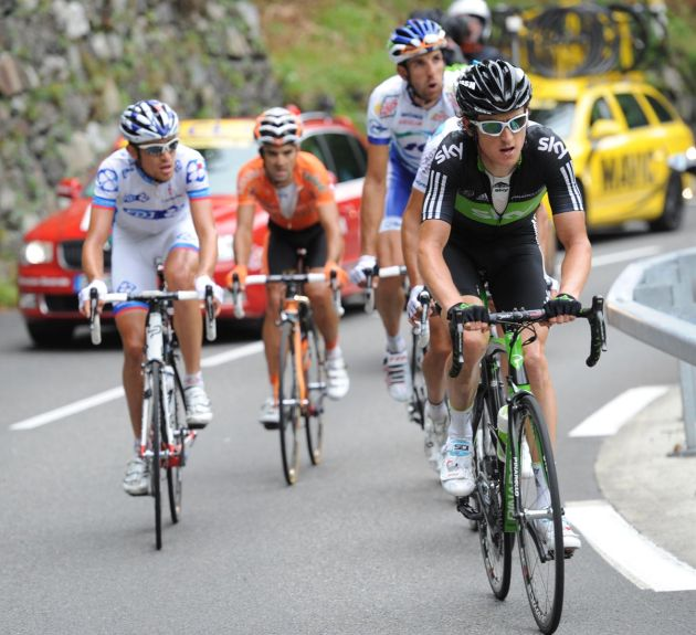 Geraint Thomas, Tour de France 2011, stage 12