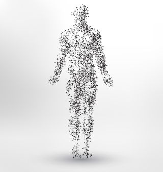 Una idea abstracta de un humano.