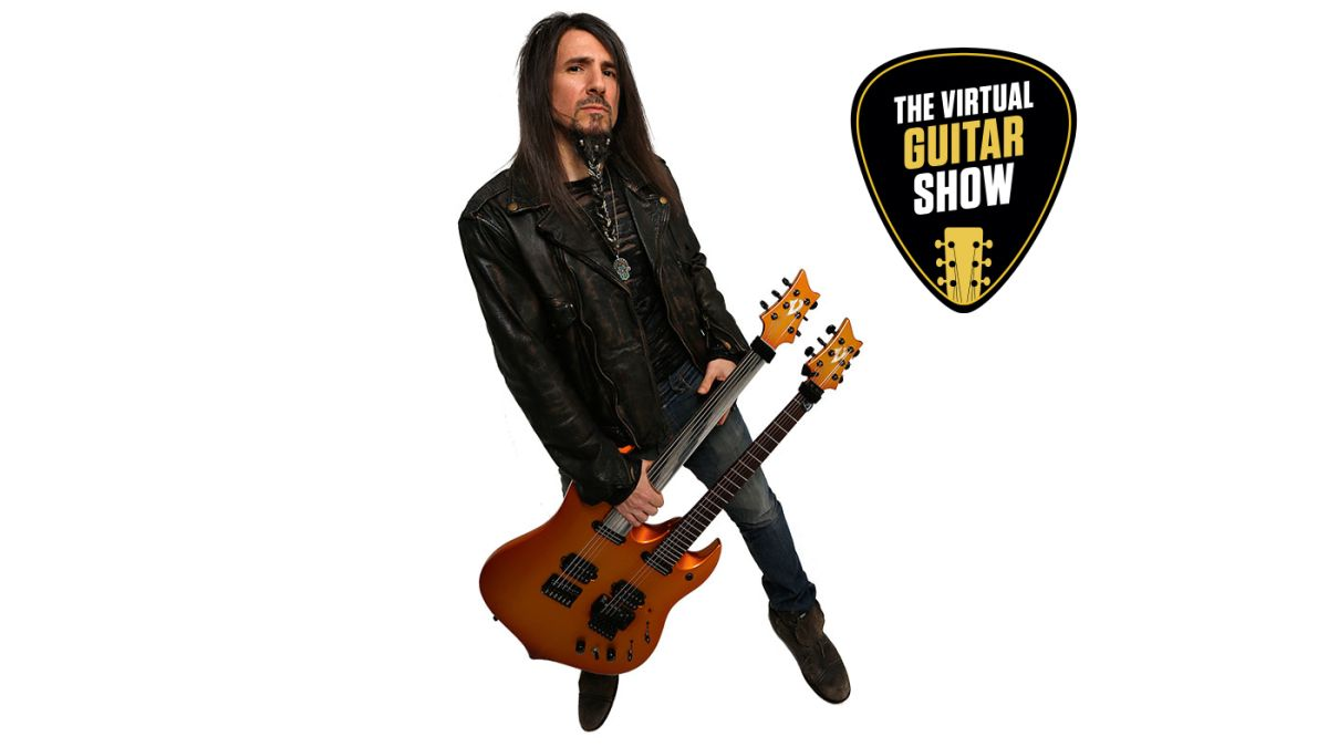 Guitar lesson: Ron 'Bumblefoot' Thal shows you how to play from both directions with a thimble