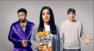 Cheetos It Wasn't Me ad featuring Mila Kunis, Ashton Kutcher and Shaggy