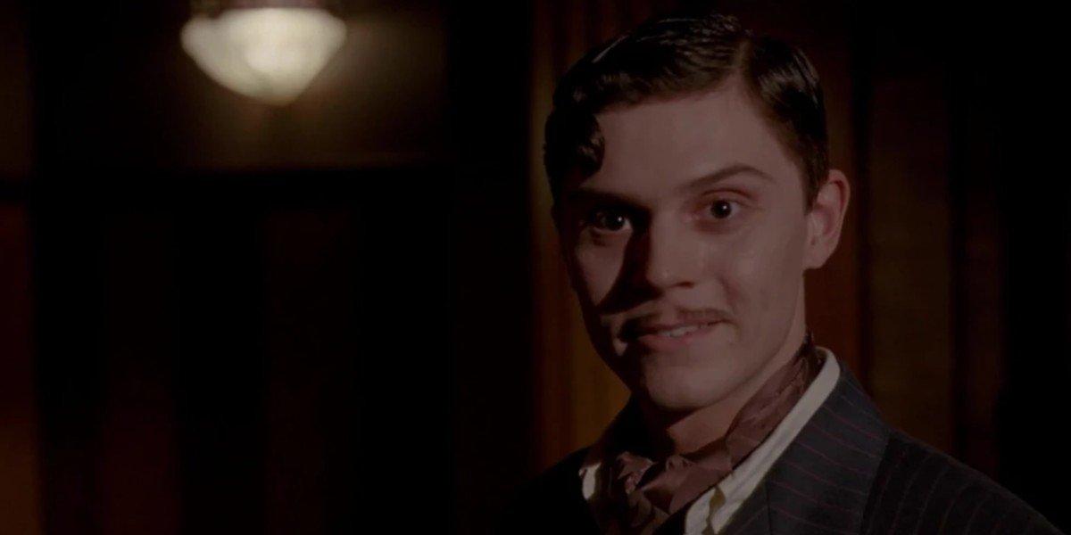 Evan Peters as James March in American Horror Story