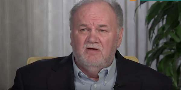 Thomas Markle screenshot from ITV interview