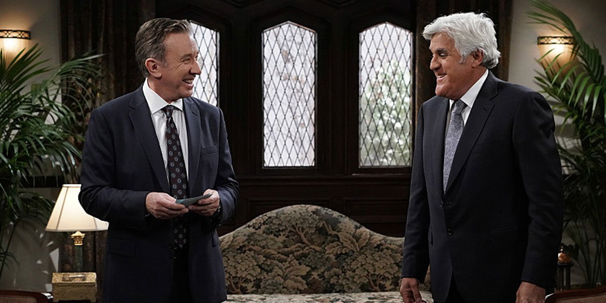 Tim Allen and Jay Leno on Last Man Standing 2020