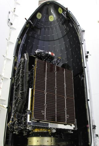 AsiaSat 6 Satellite Encapsulated