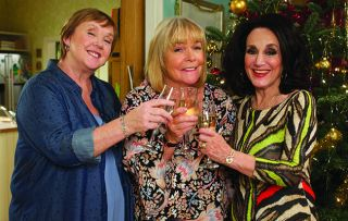 Tracey has news for Sharon and Dorien in this festive feature-length special