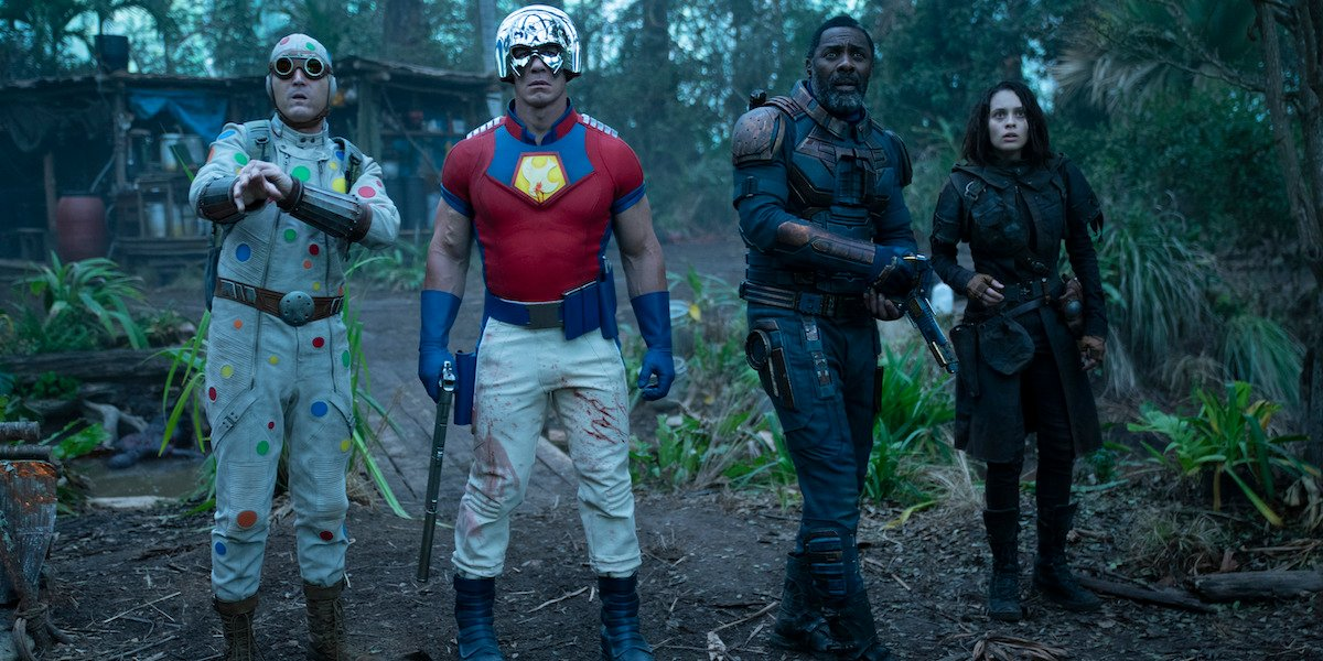 John Cena and Idris Elba in The Suicide Squad