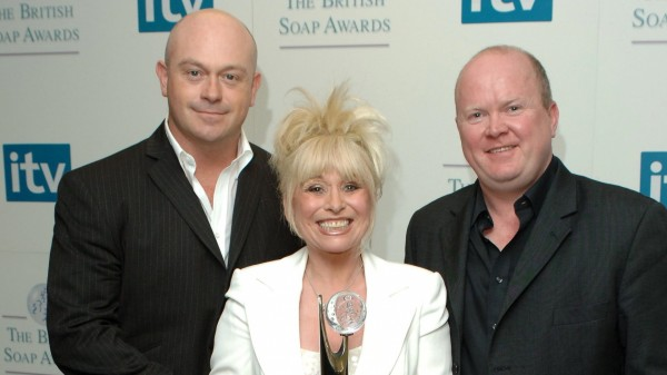 EastEnders' Ross Kemp, Dame Barbara Windsor and Steve McFadden in 2006