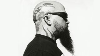 Slayer's Kerry King in profile