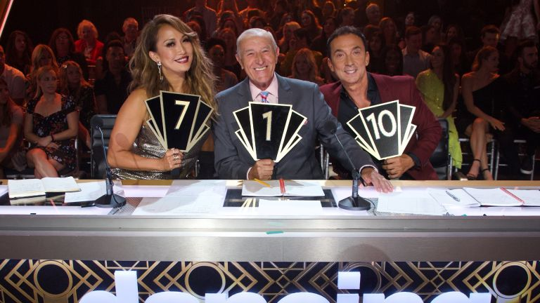 The Dancing with the stars judges