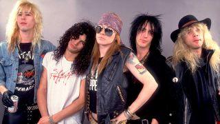 Guns N' Roses in 1987