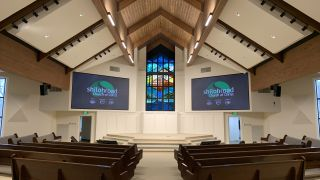 Texas Church Upgrades with Video Wall Technology and New Sound from Electro Acoustics