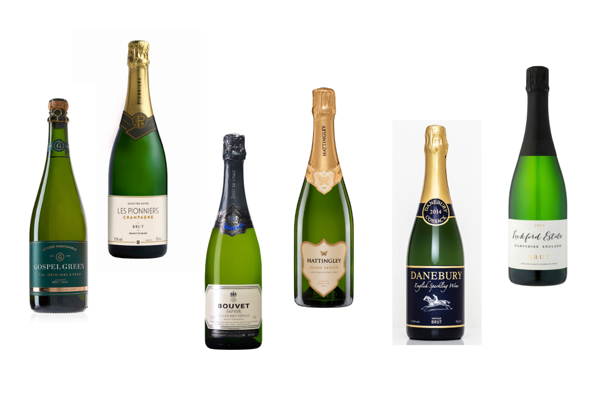 Woman and Home Christmas taste tests 2020 winners bubbles and champagne