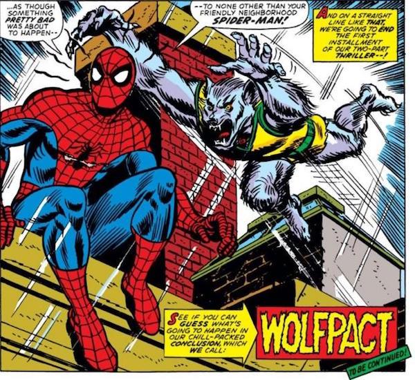 Spider-Man and Man-Wolf