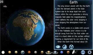 Solar System Explorer For HD Astronomy Lessons