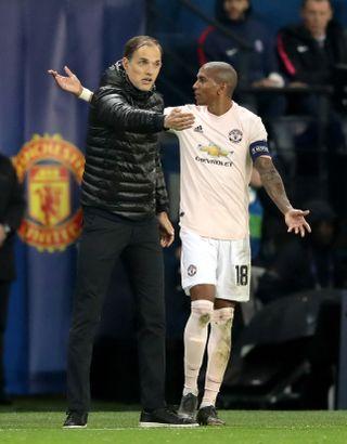 Paris Saint-Germain v Manchester United – UEFA Champions League – Round of 16 – Second Leg – Parc des Princes