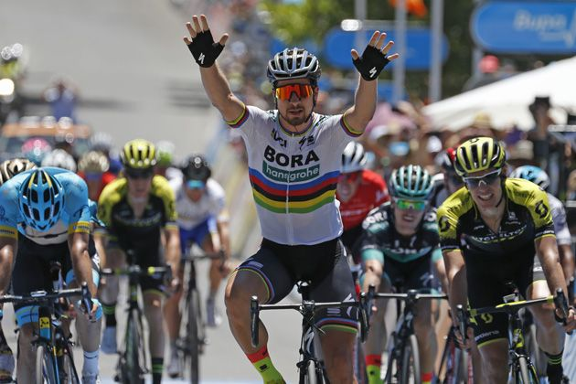 Peter Sagan powers over climb to win stage four of Tour Down Under ... bf4197619