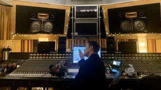 Elon Musk in the studio