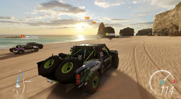 cars on the beach Forza Horizon 3