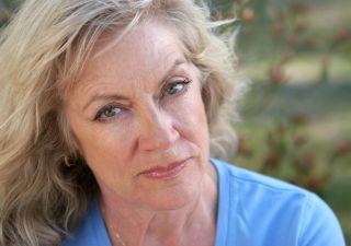 Older woman, menopause, treatment