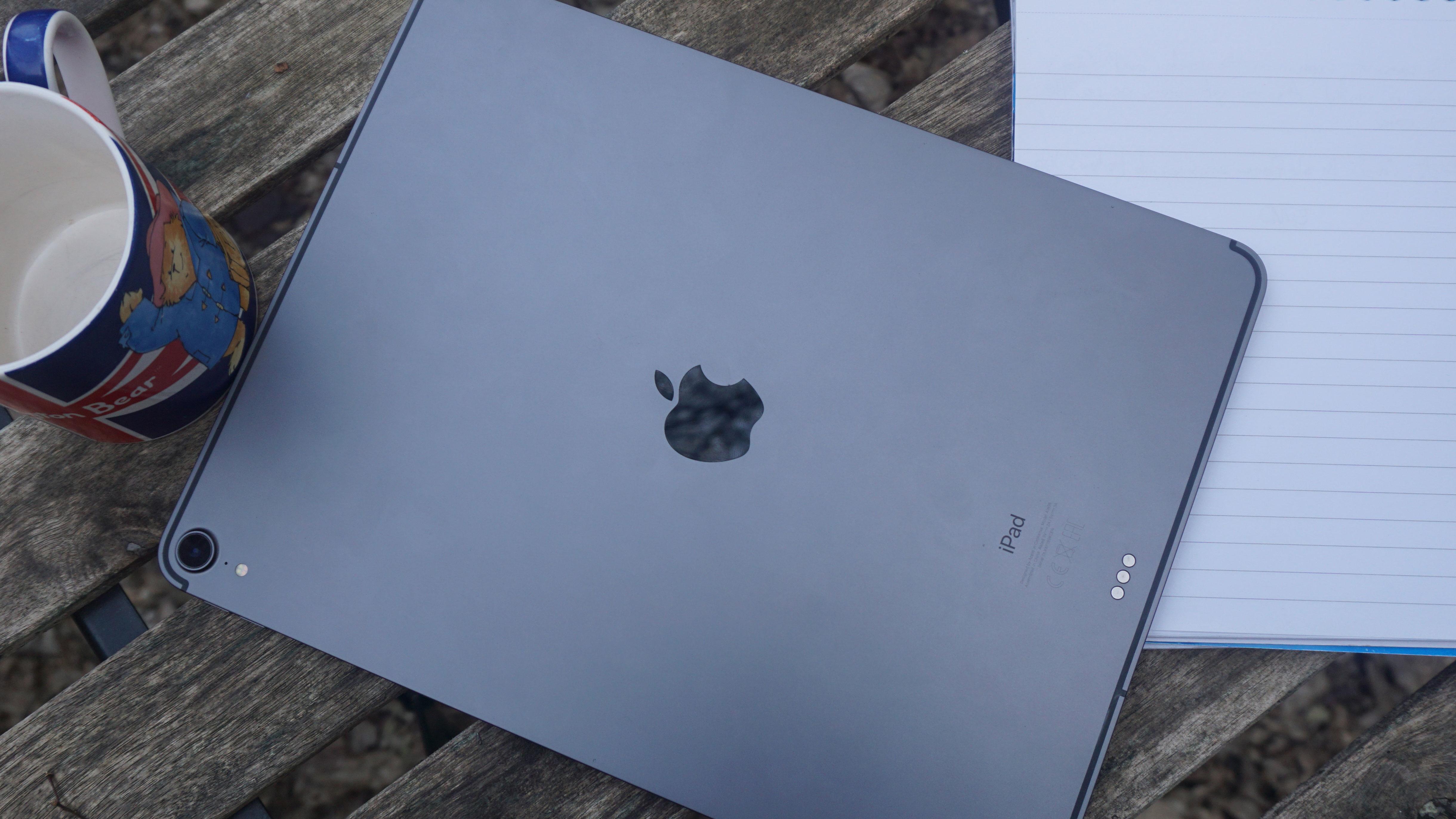 The tablet back. Image credit: TechRadar