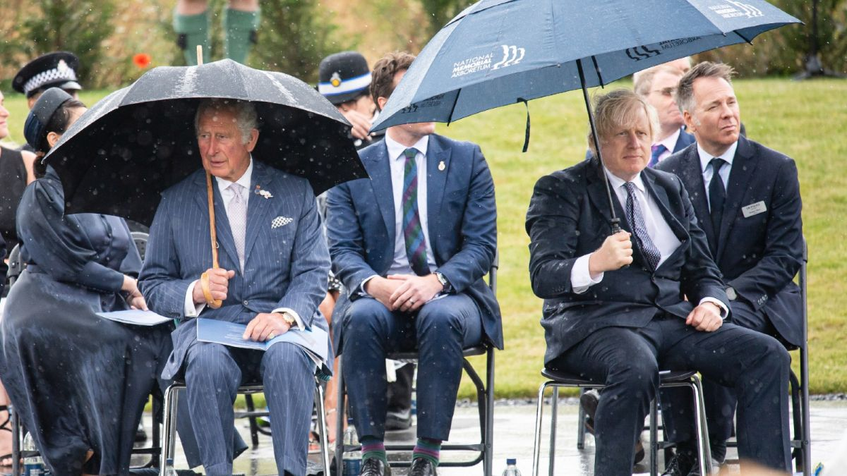Prince Charles' cheeky reaction to Boris Johnson's latest public blunder divides royal fans
