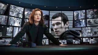 Holliday Grainger as DI Rachel Carey in BBC1's The Capture
