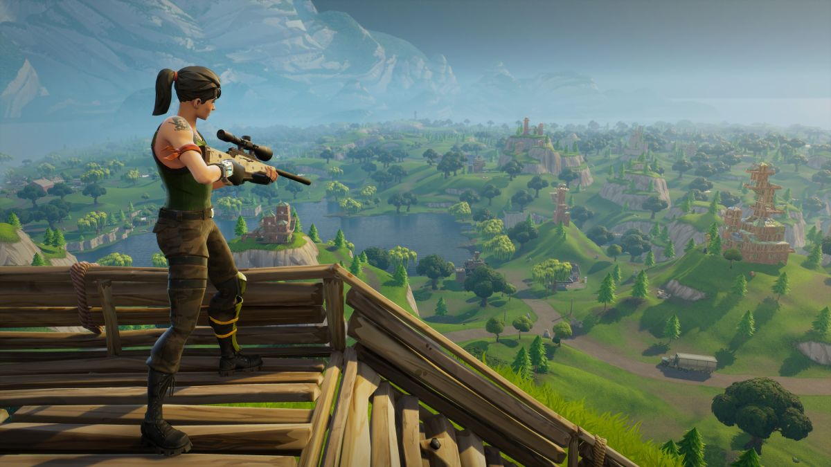 Fortnite on Nintendo Switch supports crossplay with PC
