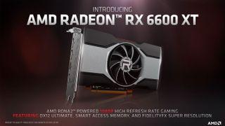 RX 6600 XT Announcement press deck image