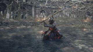 Dark Souls with Sekiro weapons