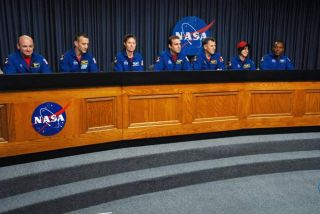 Teacher-Astronaut, Crewmates Glad to be Home
