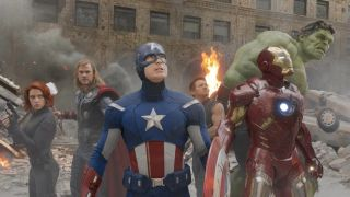 An image from The Avengers
