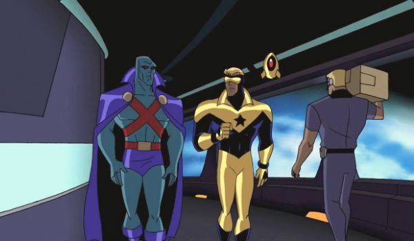justice league unlimited booster gold