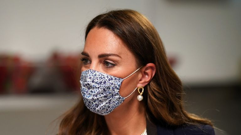 Kate Middleton's face masks have this significant meaning behind them