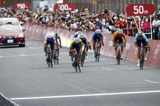 Tokyo 2020 Olympic Games - Olimpiadi Tokyo 2020 - Men's Road Race - Musashinonomori Park - Fuji Internetional Speedway 234 km - 24/07/2021 - Wout Van Aert (BEL - Jumbo - Visma) - Tadej Pogacar (SLO - UAE Team Emirates) - photo Luca Bettini/BettiniPhoto©2021