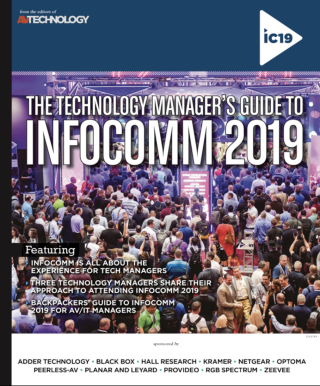 The Technology Manager's Guide to InfoComm 2019