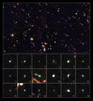 Hubble Dwarf Galaxies