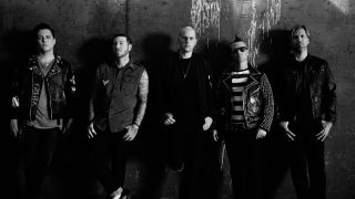A promo picture of Avenged Sevenfold