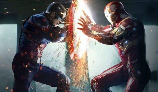 Captain America Civil War Captain America Iron Man