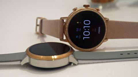 Hands On Fossil Q Venture Hr Review Techradar
