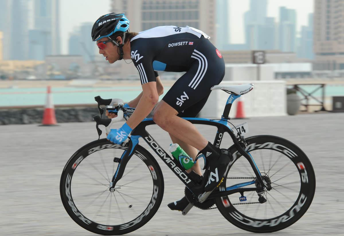 Alex Dowsett, fifth, Tour of Qatar 2011, prologue