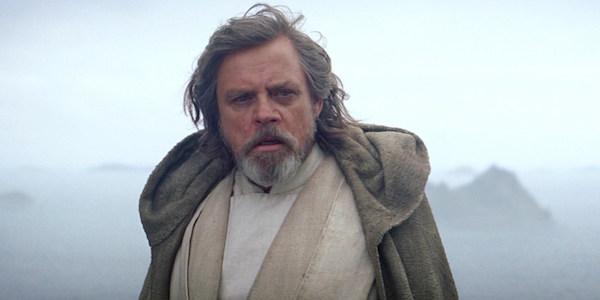 Luke Skywalker in Star Wars: The Force Awakens